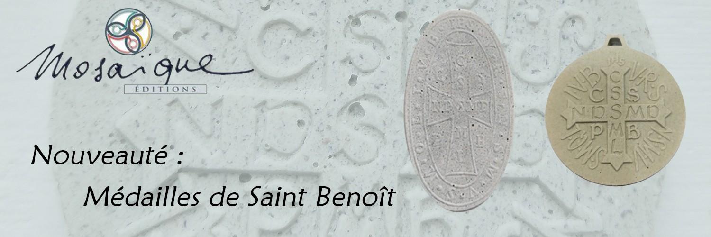 Nouvelles médailles de Saint Benoît